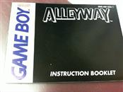 Nintendo Game Boy New Alleyway Instruction Booklet